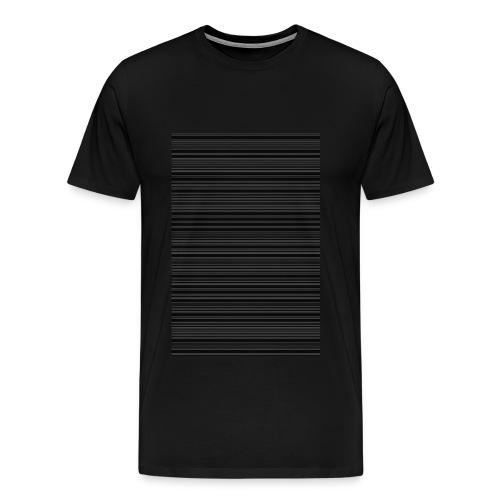 T-shirt code bar - T-shirt Premium Homme