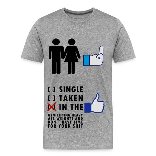Fitness Love - Männer Premium T-Shirt