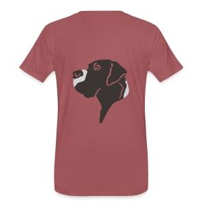 Doggenjacke Fleece - Männer Premium T-Shirt