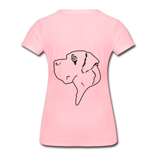 Doggenjacke Fleece - Frauen Premium T-Shirt