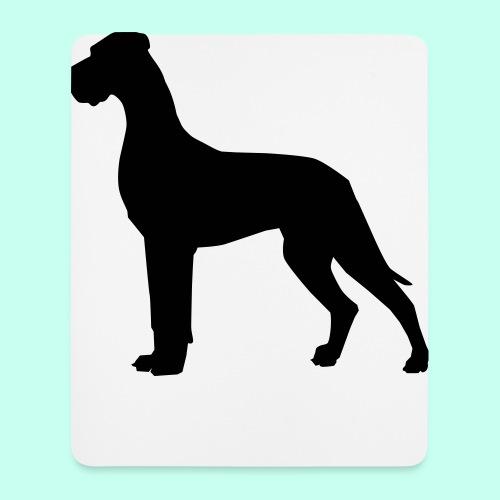 Doggenjacke Fleece - Mousepad (Hochformat)
