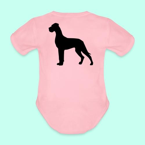 Doggenjacke Fleece - Baby Bio-Kurzarm-Body