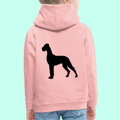 Doggenjacke Fleece - Kinder Premium Hoodie