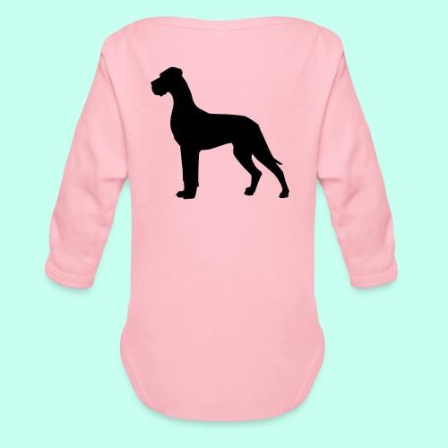 Doggenjacke Fleece - Baby Bio-Langarm-Body
