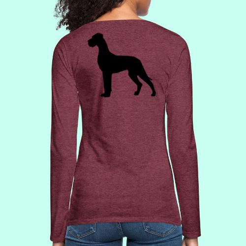 Doggenjacke Fleece - Frauen Premium Langarmshirt