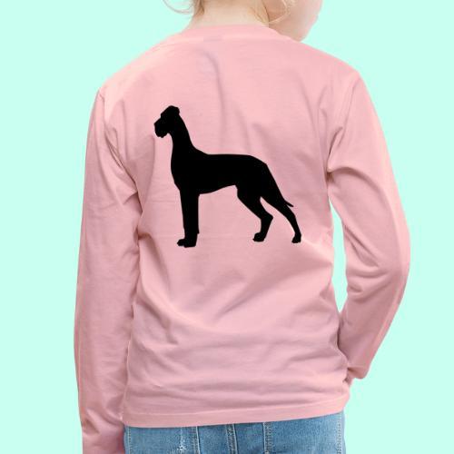 Doggenjacke Fleece - Kinder Premium Langarmshirt