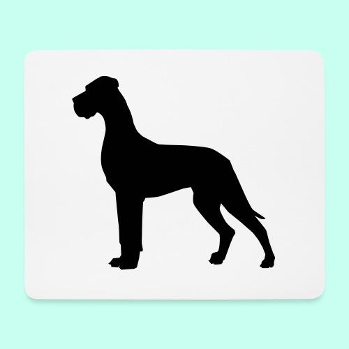 Doggenjacke Fleece - Mousepad (Querformat)