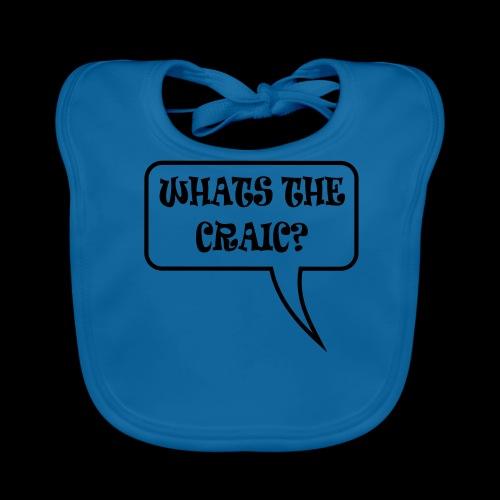 Whats the Craic? - Baby Organic Bib