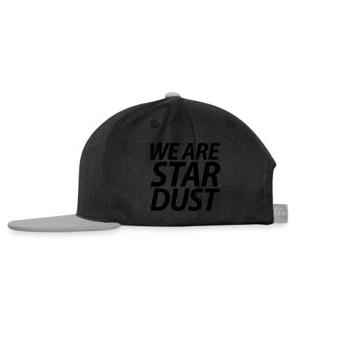 WE ARE STARDUST kursiv - Snapback Cap