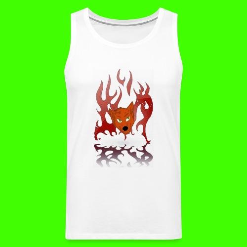 Mr. Spitfyre Shirt  - Men's Premium Tank Top
