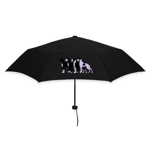 Gefleckte Doggen - Regenschirm (klein)