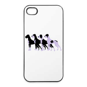 Gefleckte Doggen - iPhone 4/4s Hard Case