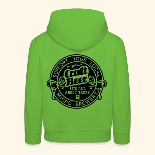 Craft Beer, inverted - Kinder Premium Hoodie