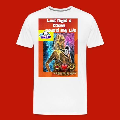 Last Night Männer red - Männer Premium T-Shirt