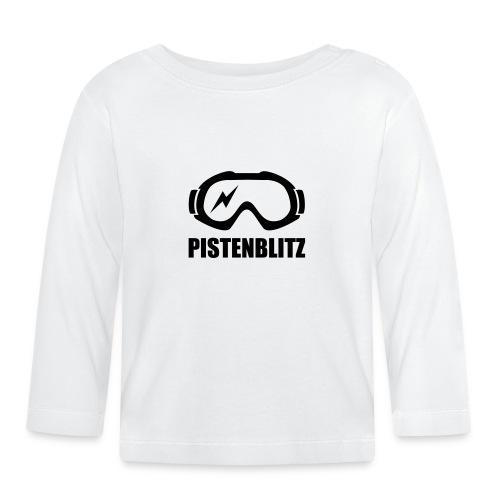 Schibrille mit Blitz - Baby Langarmshirt