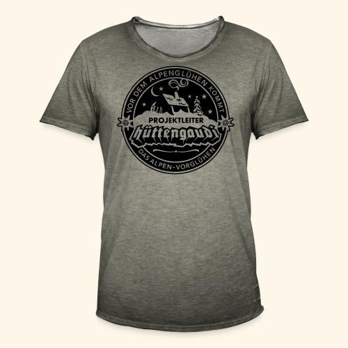 Projektleiter Hüttengaudi - Männer Vintage T-Shirt