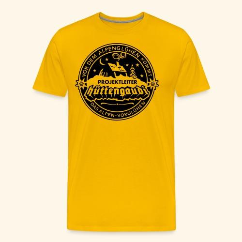 Projektleiter Hüttengaudi - Männer Premium T-Shirt