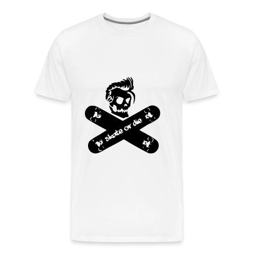 skate or die T-Shirt - Männer Premium T-Shirt