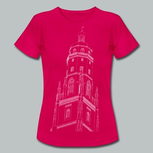 Nördlinger Wahrzeichen Daniel  T-Shirt (Frauen) - Frauen T-Shirt
