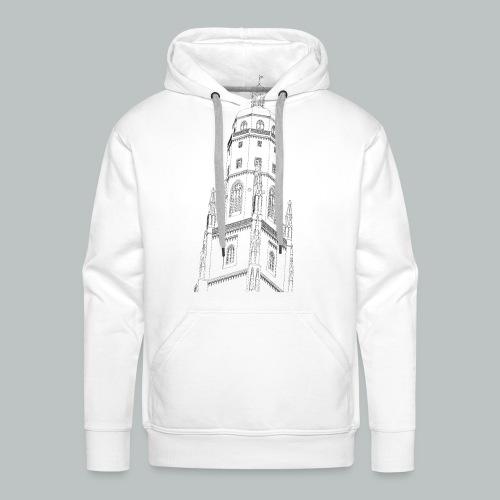 Nördlinger Wahrzeichen Daniel T-Shirt (Männer) - Männer Premium Hoodie