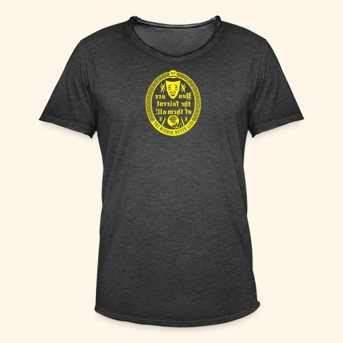 Fairest of them all,Kerlie - Männer Vintage T-Shirt