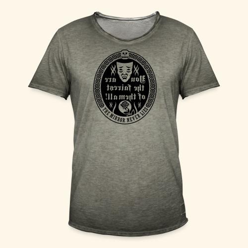 Fairest of them all,Lady - Männer Vintage T-Shirt
