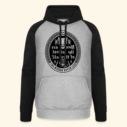 Fairest of them all,Lady - Unisex Baseball Hoodie