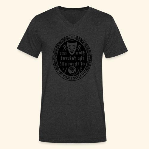 Fairest of them all,Lady - Männer Bio-T-Shirt mit V-Ausschnitt von Stanley & Stella