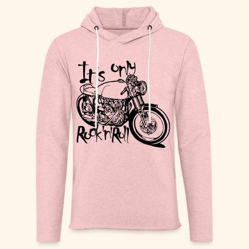 Only Rock'n'Roll - Sweat-shirt à capuche léger unisexe