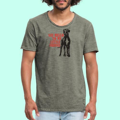 Hallo mein Kleiner! - Männer Vintage T-Shirt