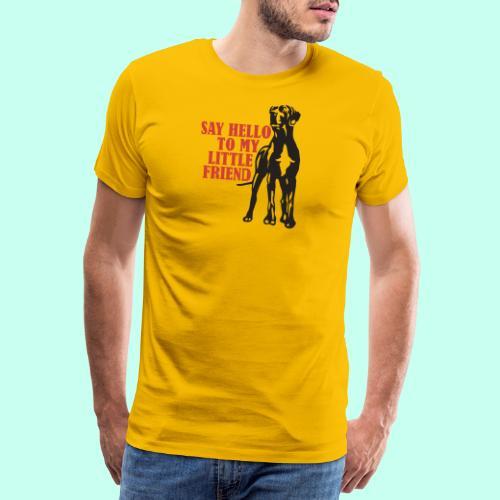 Hallo mein Kleiner! - Männer Premium T-Shirt