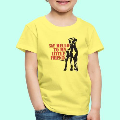 Hallo mein Kleiner! - Kinder Premium T-Shirt
