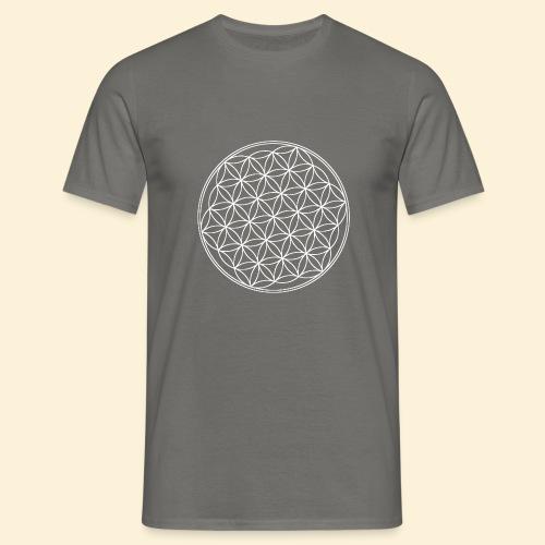 Lebensblume - Männer T-Shirt