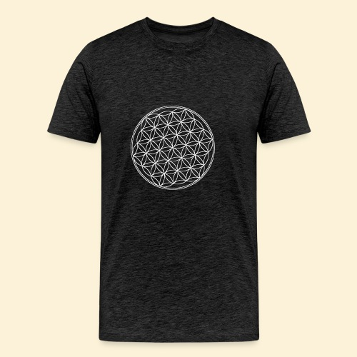 Lebensblume - Männer Premium T-Shirt