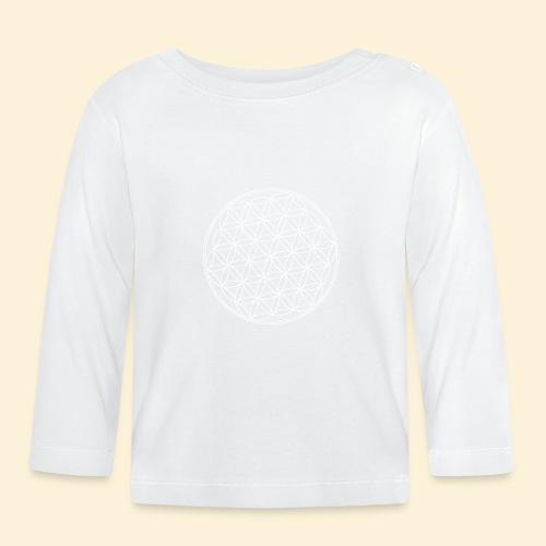 Lebensblume - Baby Langarmshirt