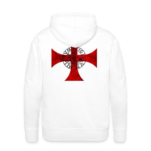 Tee Shirt Bicolore Templier - Sweat-shirt à capuche Premium pour hommes