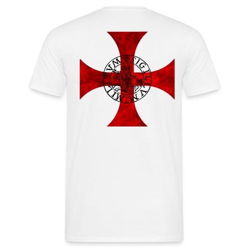 Tee Shirt Bicolore Templier - T-shirt Homme