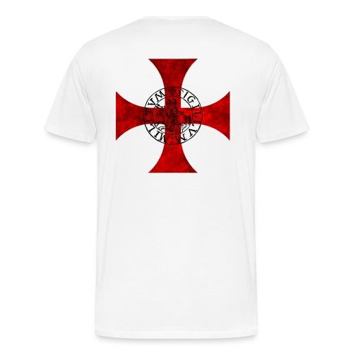 Tee Shirt Bicolore Templier - T-shirt Premium Homme