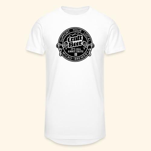 Craft Beer, bicolor - Männer Urban Longshirt