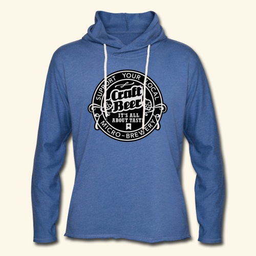 Craft Beer, bicolor - Leichtes Kapuzensweatshirt Unisex