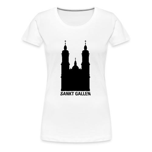 Kloster St. Gallen - Frauen Premium T-Shirt