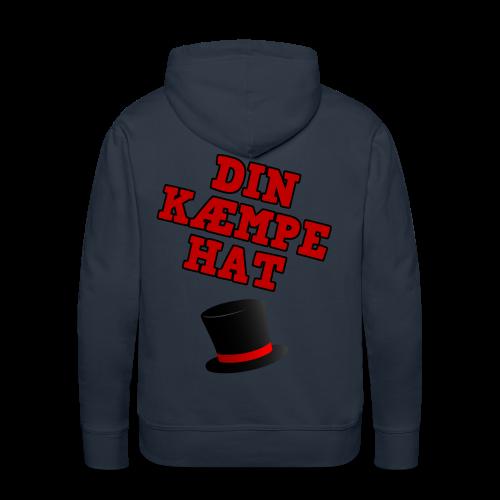 Kæmpe Hat Hættetrøje - Herre Premium hættetrøje