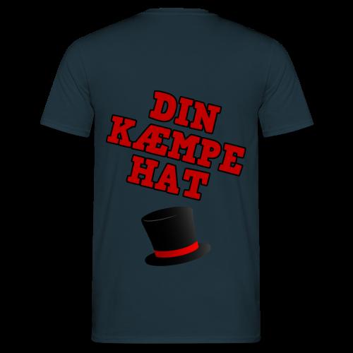 Kæmpe Hat Hættetrøje - Herre-T-shirt