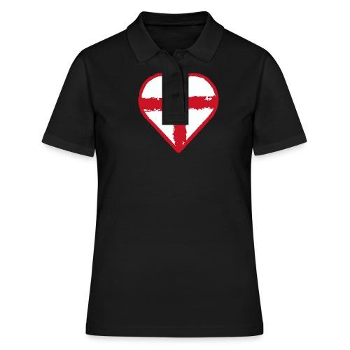 English heart - Women's Polo Shirt