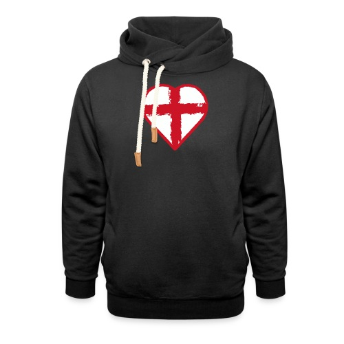 English heart - Shawl Collar Hoodie
