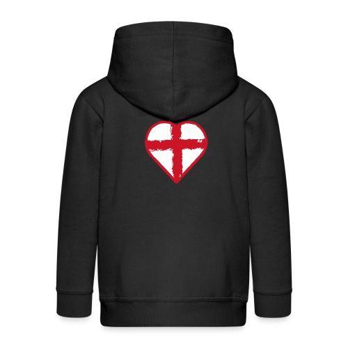 English heart - Kids' Premium Zip Hoodie