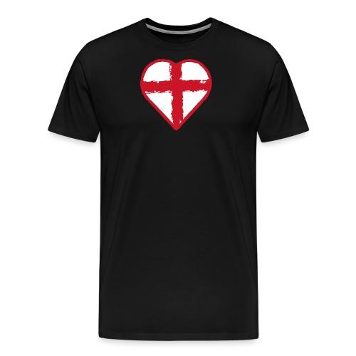 English heart - Men's Premium T-Shirt