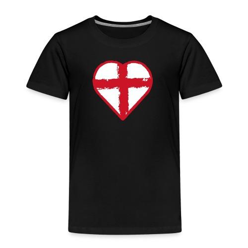 English heart - Kids' Premium T-Shirt