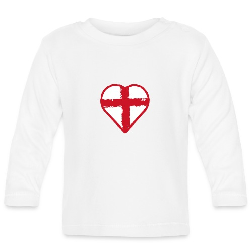 English heart - Baby Long Sleeve T-Shirt