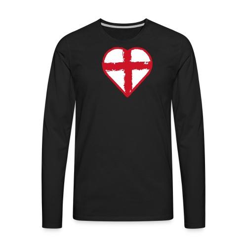 English heart - Men's Premium Longsleeve Shirt